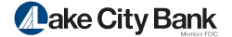 Lake City Bank Logo