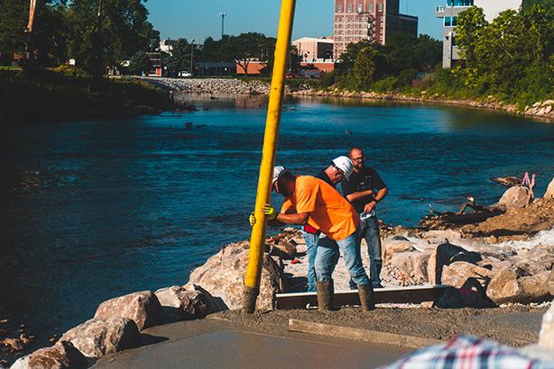 Elkhart Riverwalk